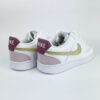 Nike court vision low crystal gold